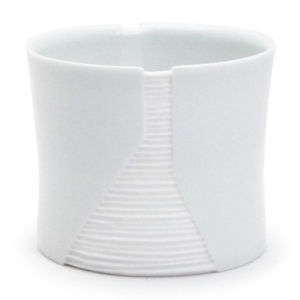 Bryan Hopkins: Short Cup. Porcelain.