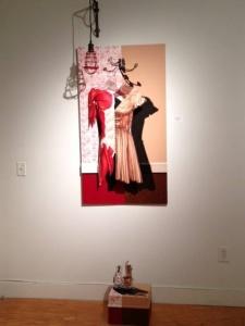 """Mark Kolessar: """"Second Skin"""". Installation/mixed media, 2012."""
