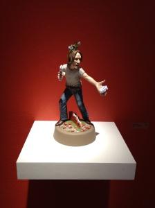Installation view at The Clay Studio, Philadelphia, PA on March 9th, 2013. Photo: P. Sullivan