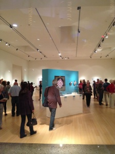 Opening night, 2/14/14 at Mesa Contemporary Arts Museum in Mesa, Arizona.  Photo: P.Sullivan