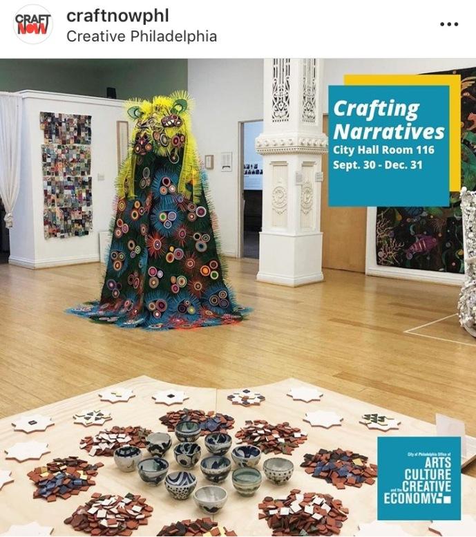 Crafting Narratives exhibit