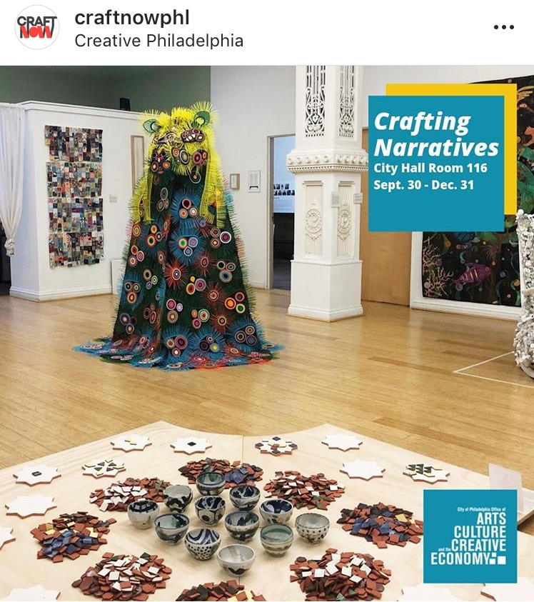 Crafting Narratives exhibit